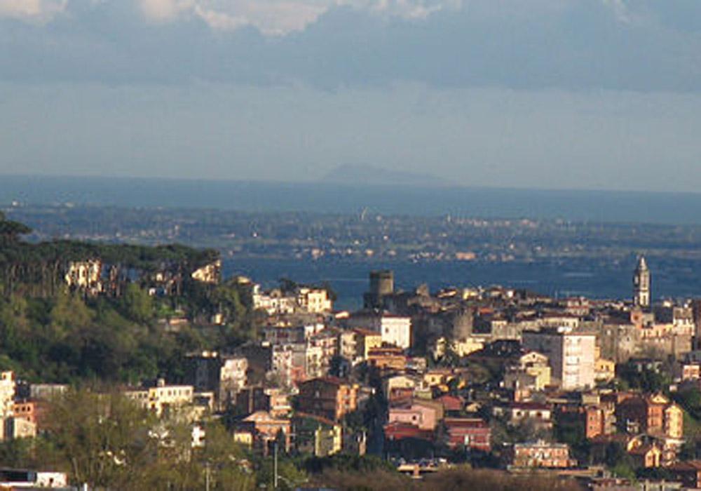 Lanuvio, Castelli Romani, Italy.