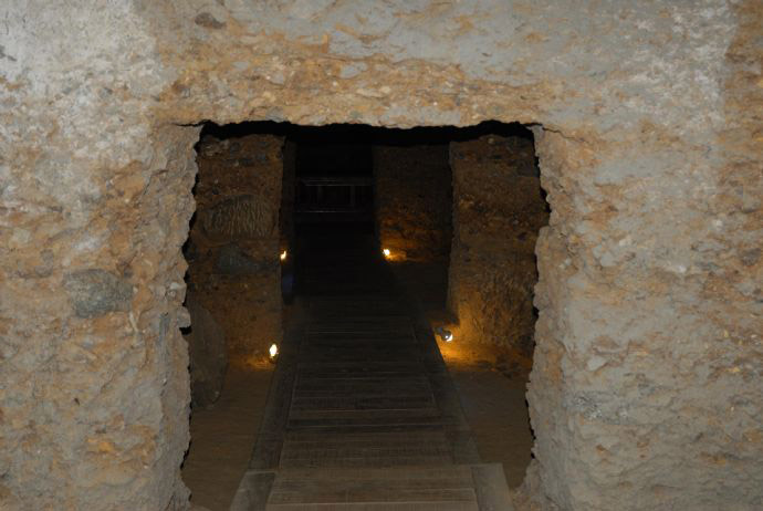 The Treasury of Amissos, a chamber tomb discovered in 1995. Source: The Archaeology News Network.