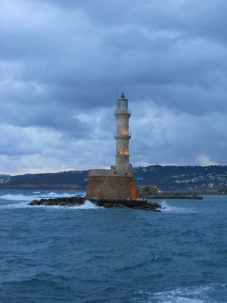 Venetian Lighthouse, Chania (Crete). Photo: Lanah Koell.(Image gallery of the Sunoikisis website)