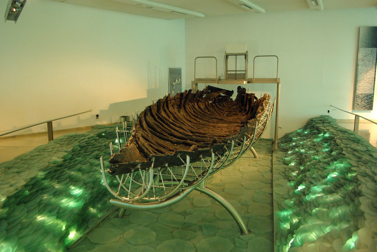 The Sea of Galilee boat (100 BC-100 AD).