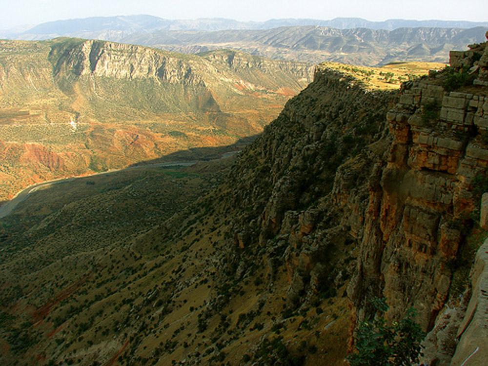 Landscape near Siirt, Turkey.