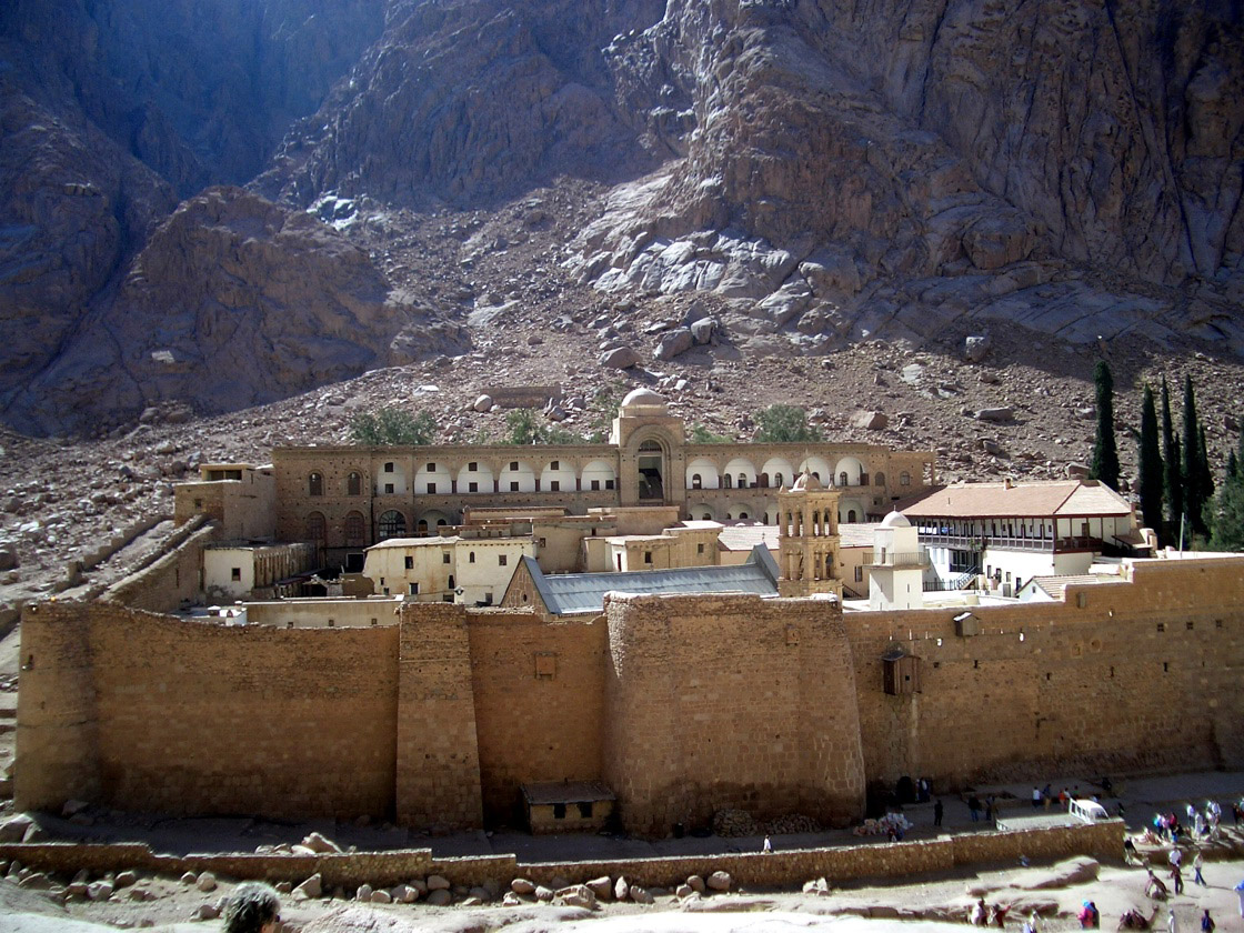 St. Catherine's monastery, Mount Sinai, Egypt.