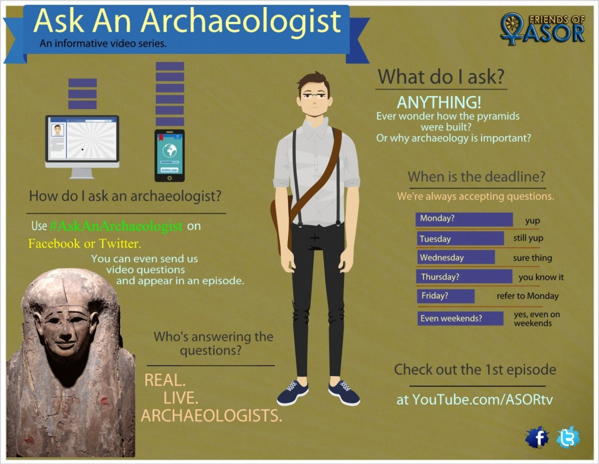 """Ask An Archaeologist"" provides reliable, entertaining and educational information about Archaeology in video form."