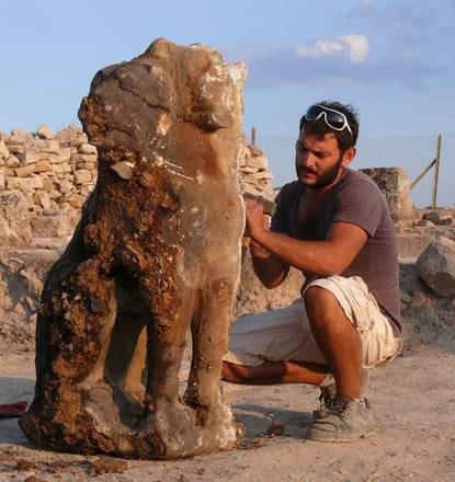 Statue of Cerberus found at Hierapolis, Turkey.