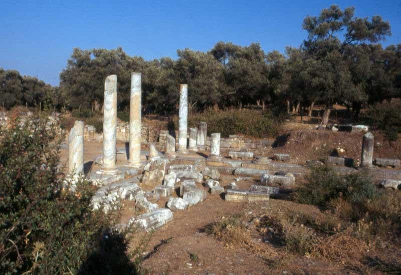 The Agora at ancient Iasos.