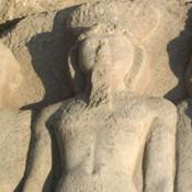 Life-size representation of king Ramses II found in Sharkiya