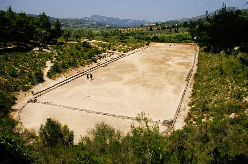 The ancient stadium of Nemea.