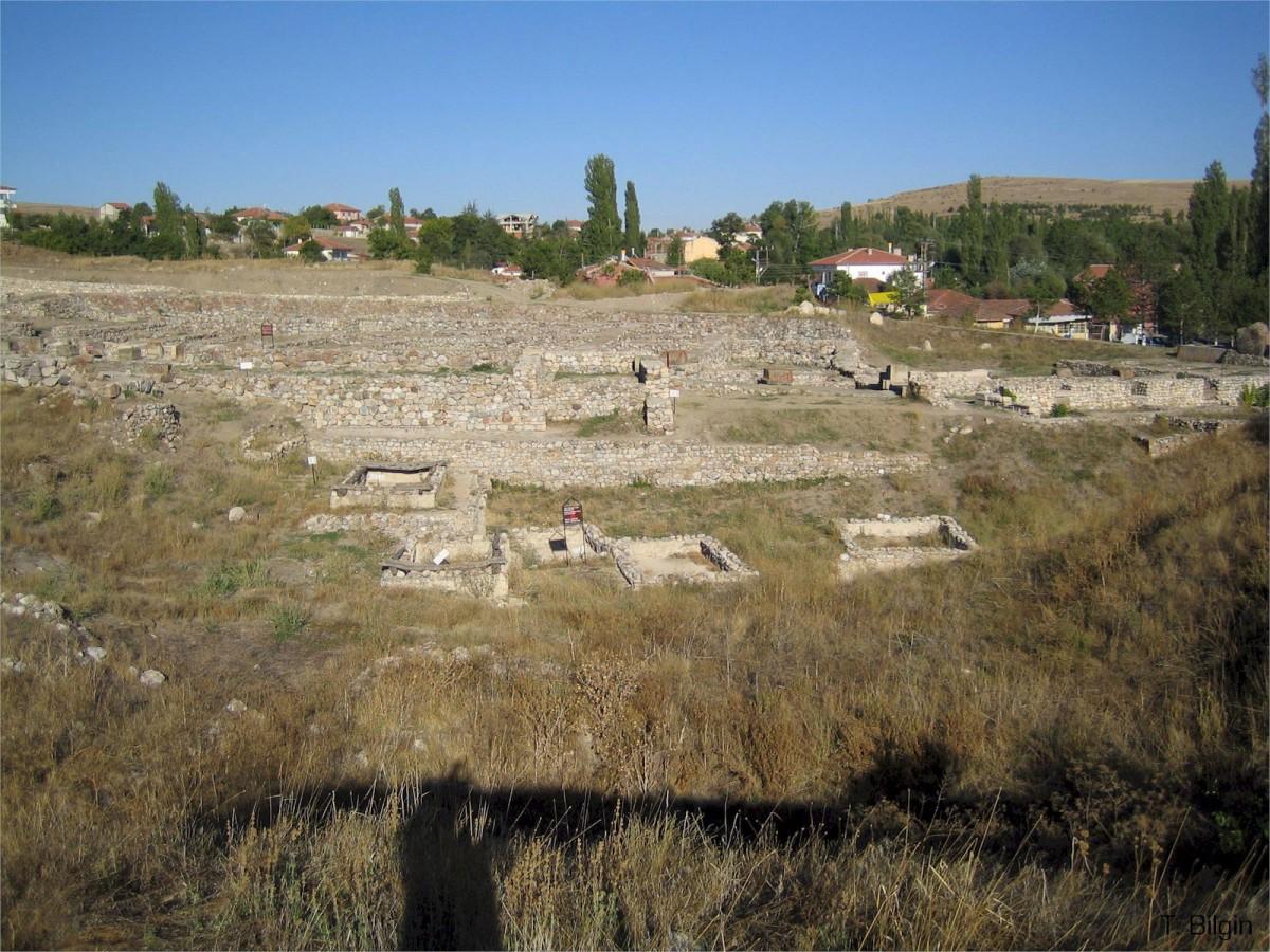 Part of the site at Alacahöyük, Turkey.