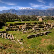 The Ancient Theatre of Sparta in Way of Restoration