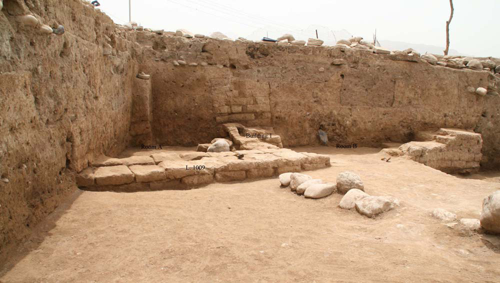 Remains of a domestic structure. City of Idu, Parthian period, 1st c. AD. Image: Cinzia Pippi.