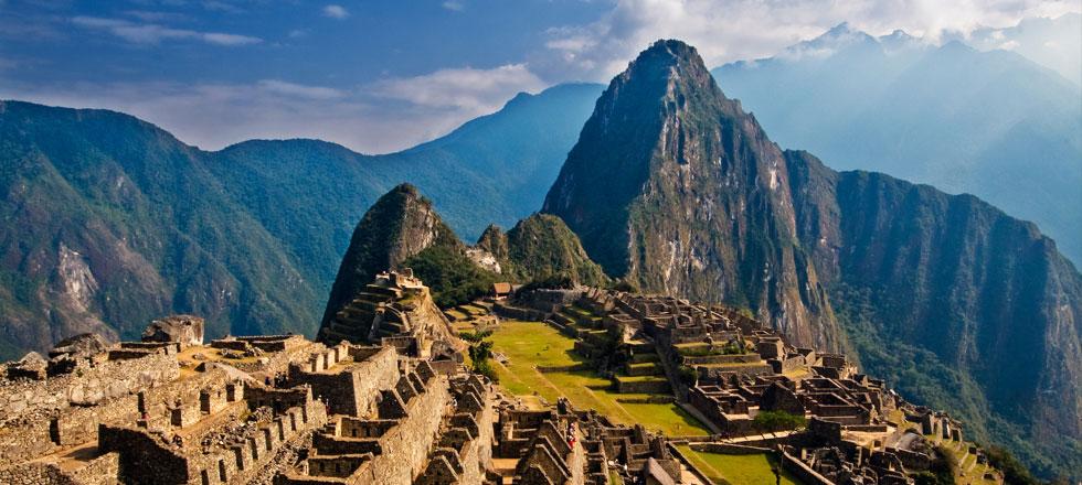 Machu Pichu, Peru. Image: Pedro Szekely.
