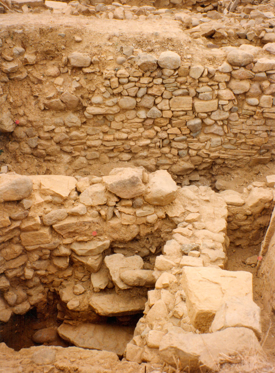 "Fig. 13. Architectural remains from the Early and Middle Bronze Age – ""Zephyros"" Street (Trench 2)."