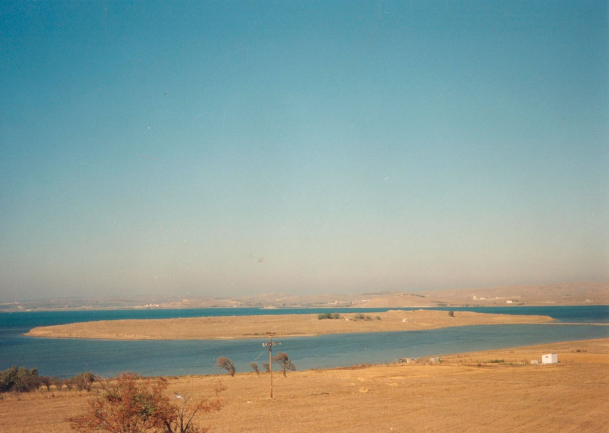 Fig. 3. Koukonisi, view from SE, from the village Moudros.