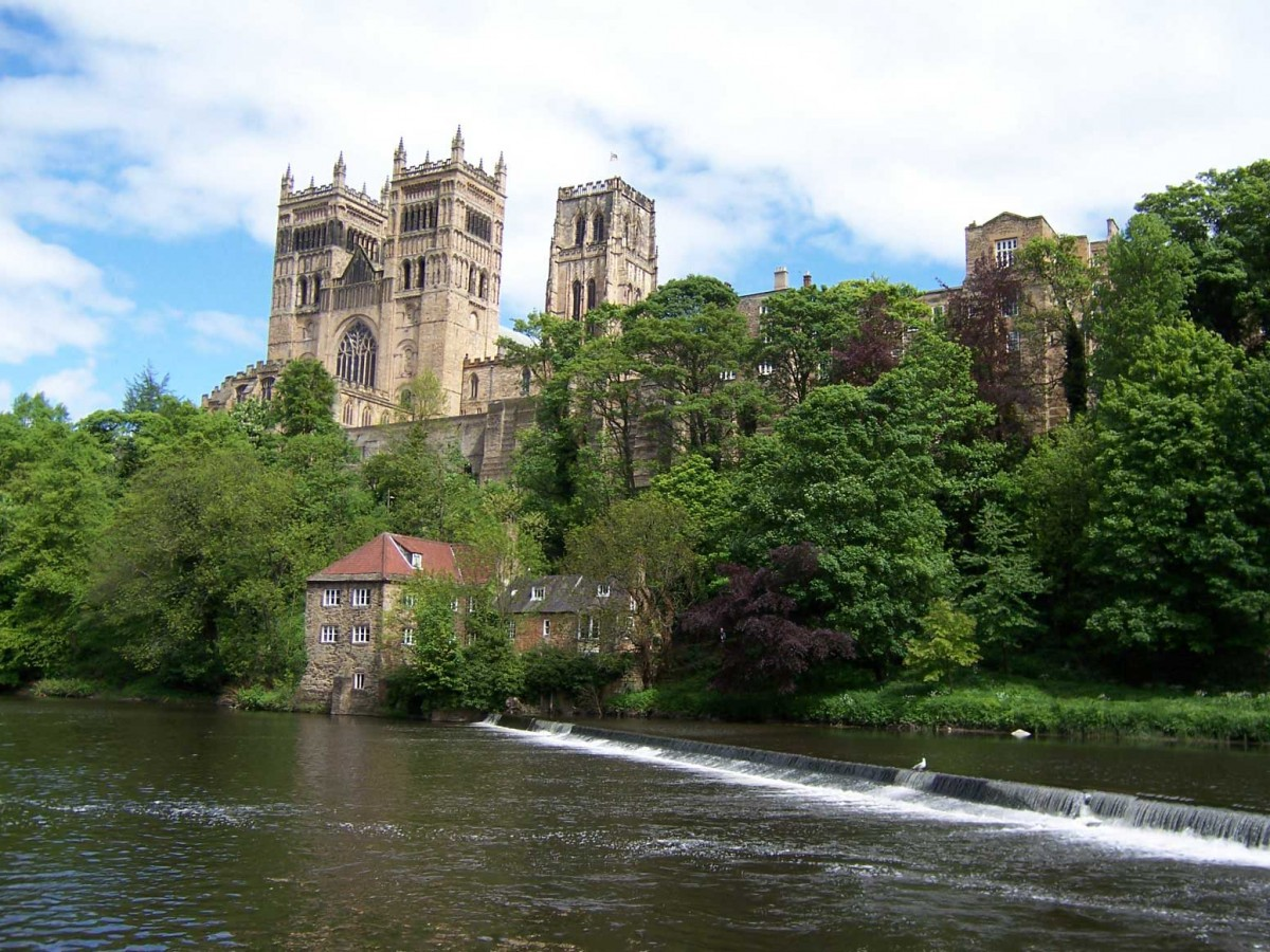 The Durham cathedral.