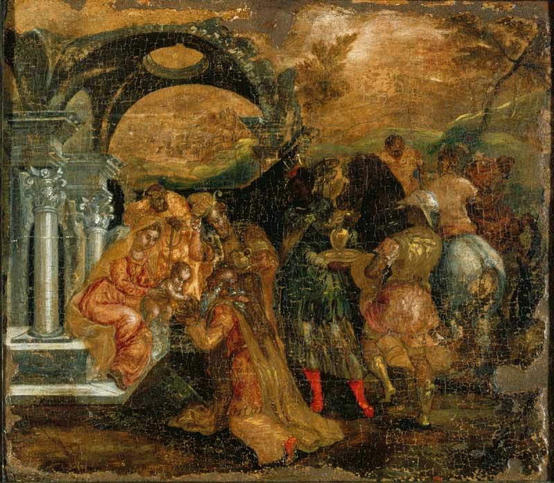 El Greco, The Adoration of the Magi. Benaki Museum.