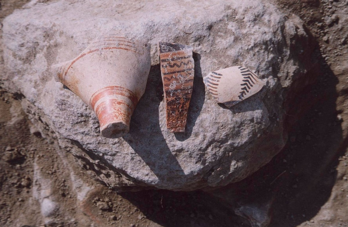 Fig. 2. Mycenaean sherds (Trench 9).