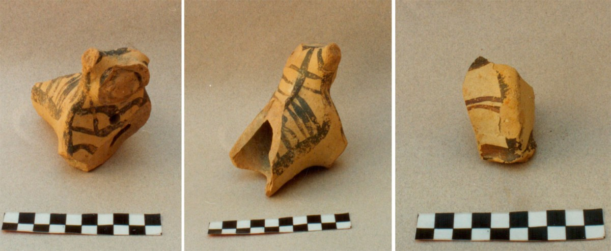 Fig. 7. Zoomorphic Mycenaean figurines from Koukonisi.