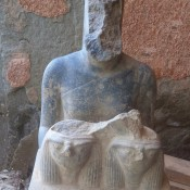 Ramesside Statues Found in Armant