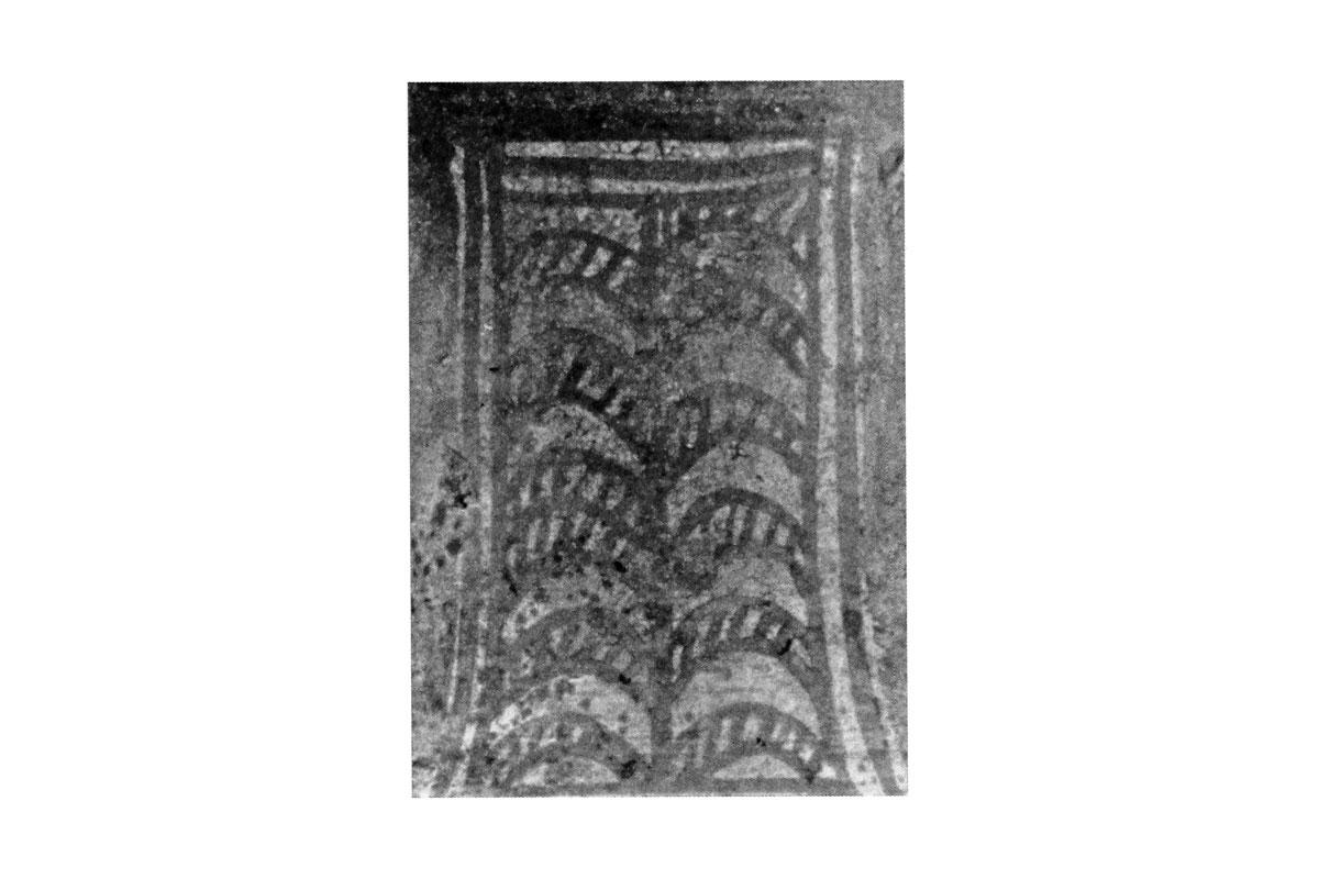 Fig. 1a. Detail from the palm tree motif (photo: I. Papadakis-Ploumidis).
