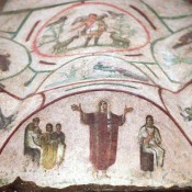 Restored catacomb frescoes trigger debate on women priests