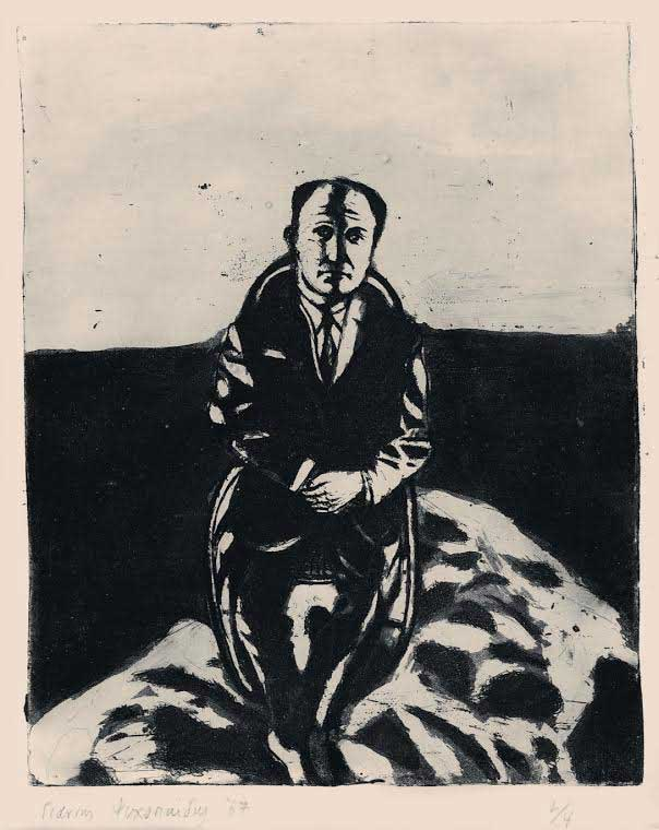 The industrialist, 1967. Etching and aquatint.