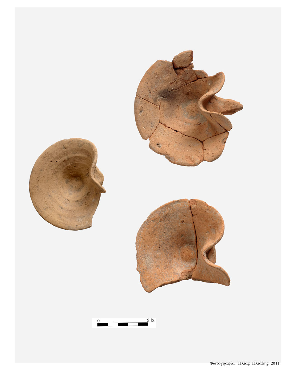 Fig. 20. Incense burners found in Room 28.