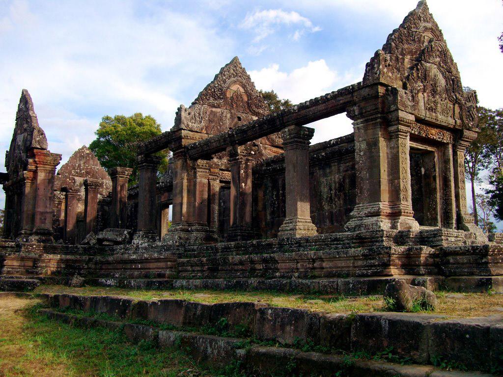 Preah Vihear Temple, 11th-12th c. AD, Cambodia/Thailand border.