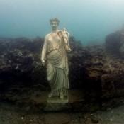 Underwater Palace Yields Roman Statue