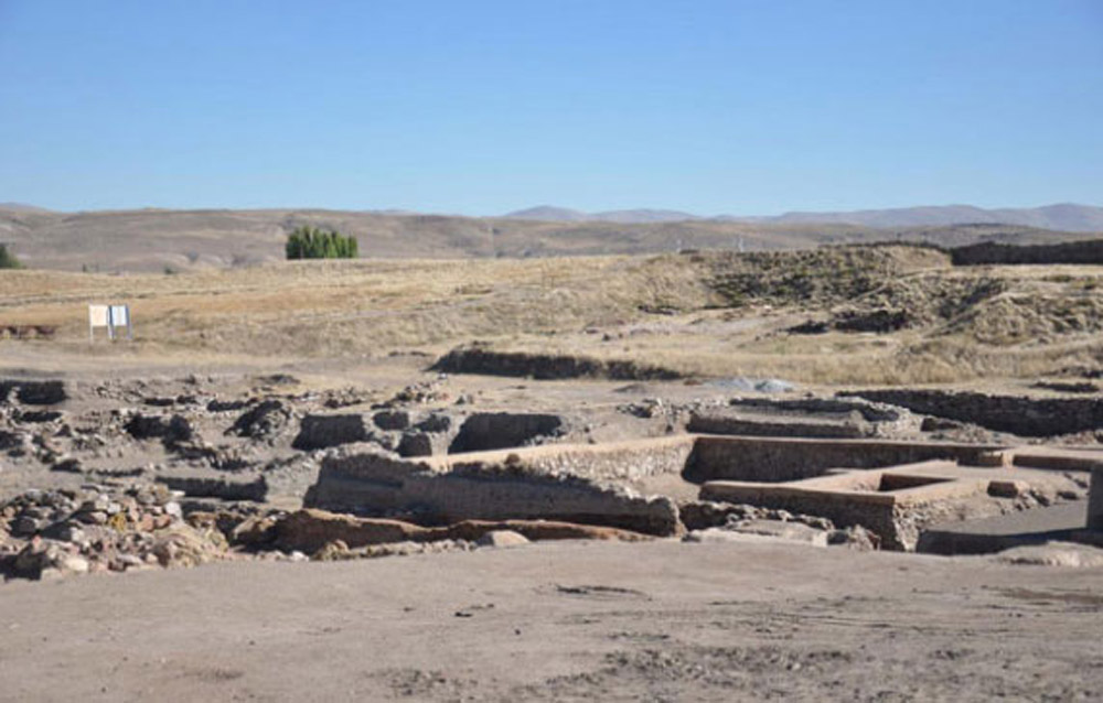 Kultepe, part of the excavation site. Photo: World Bulletin.