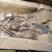 Intact Anglo-Saxon Sarcophagus Opened