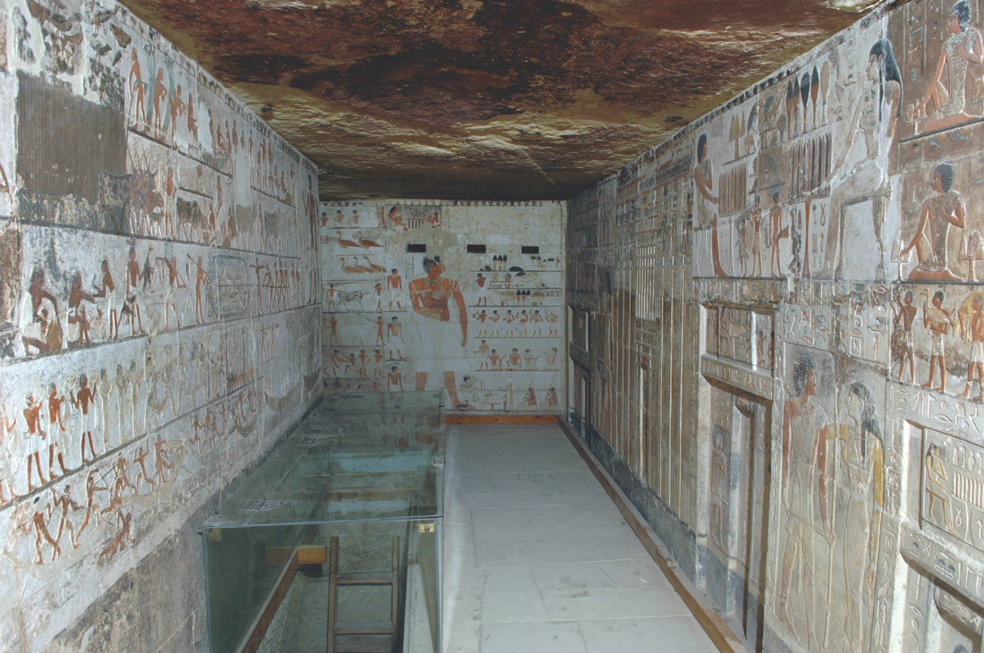 Saqqara, chapel of Kahai and his family, 5th Dynasty, around 2420 B.C. - 2389 B.C.Credit: Photo by Ms. Effy Alexakis, copyright Macquarie University Ancient Cultures Research Centre.