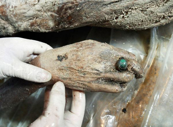Some of the most well preserved human bodies along with their clothes and jewellery have been found in China. Archive Photo, National Geographic.