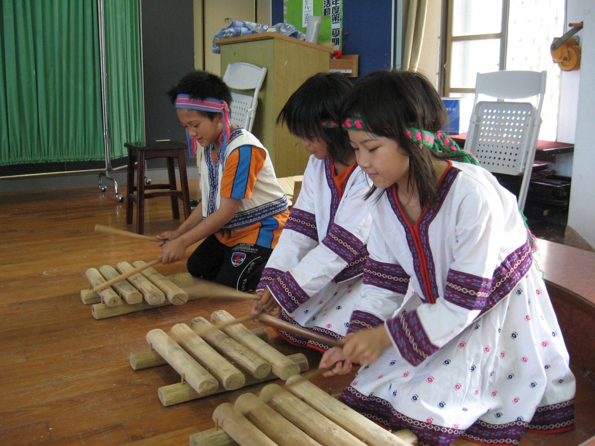 Taiwanese children playing traditional musical instruments. Photo: Activated Ministries.