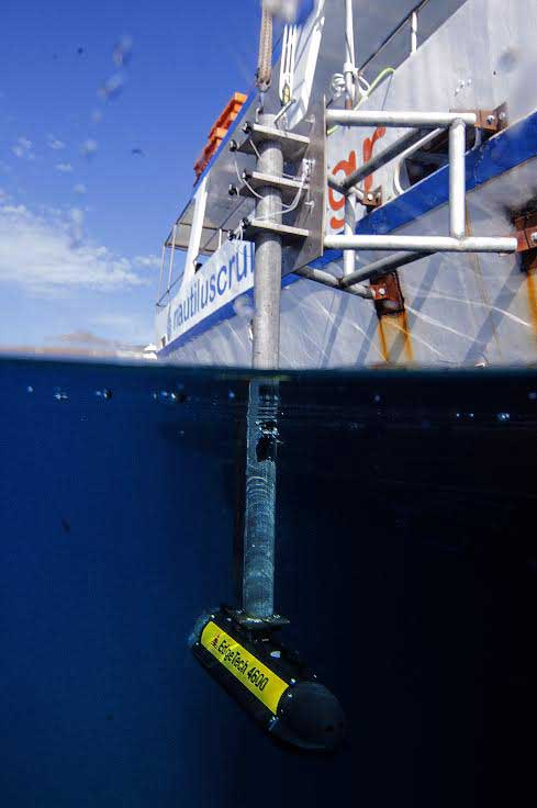 The Edge Tech-4600 technology produces real-time high resolution 3D maps of the seafloor providing co-registered simultaneous side scan and bathymetric data.