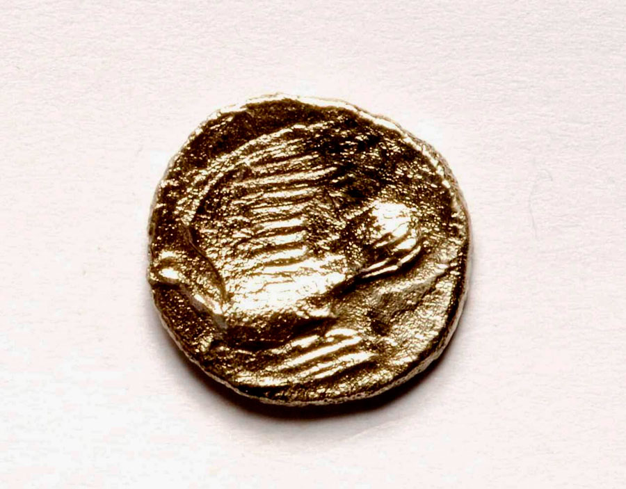 Fig. 17: Trapeza: Silver triobol of Sikyon.