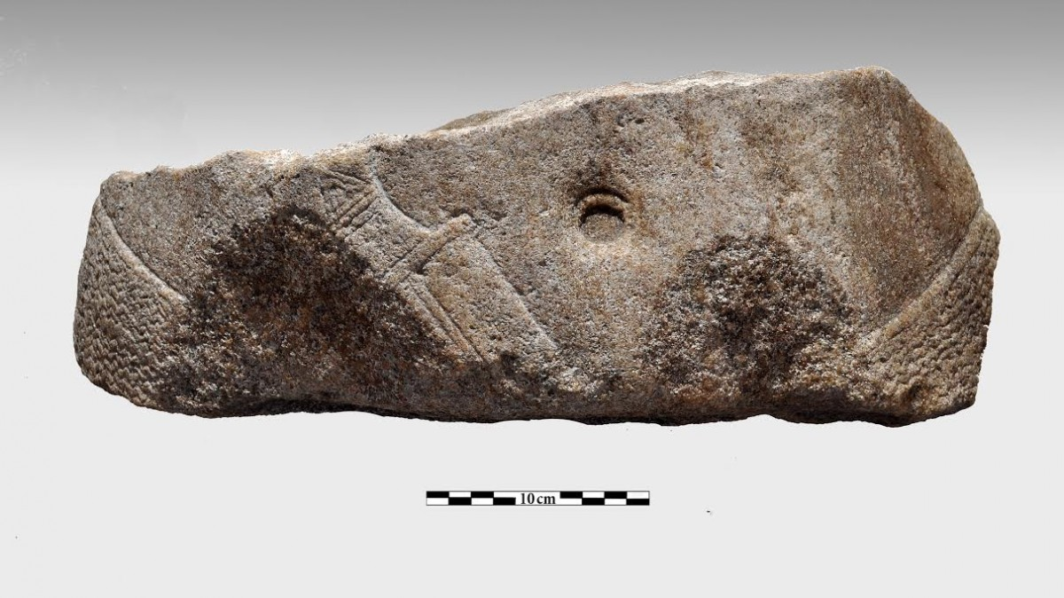 Fig. 3. Fragment B (photo: P. Vezyrtis)