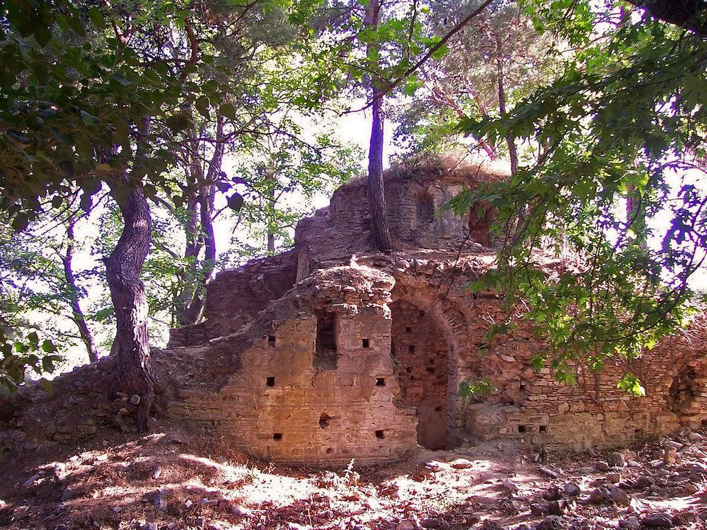The Monastery of  Hagios Averkios . Photo: Vedat Şentürk/Panoramio