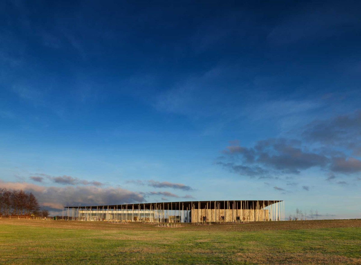 The new Stonehenge exhibition and visitor centre. Photo credit: National Trust Press Office