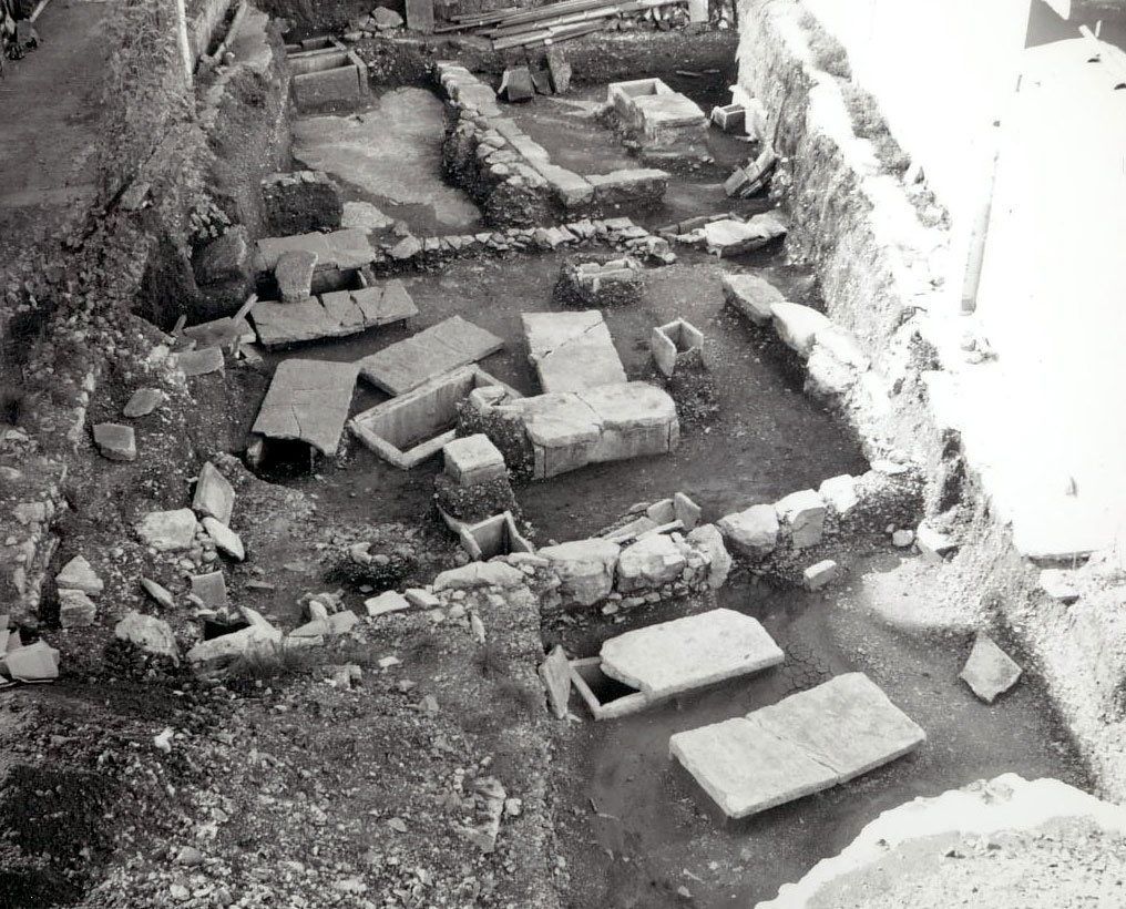 View of the excavation. (Photo credit: 33rd EPCA)