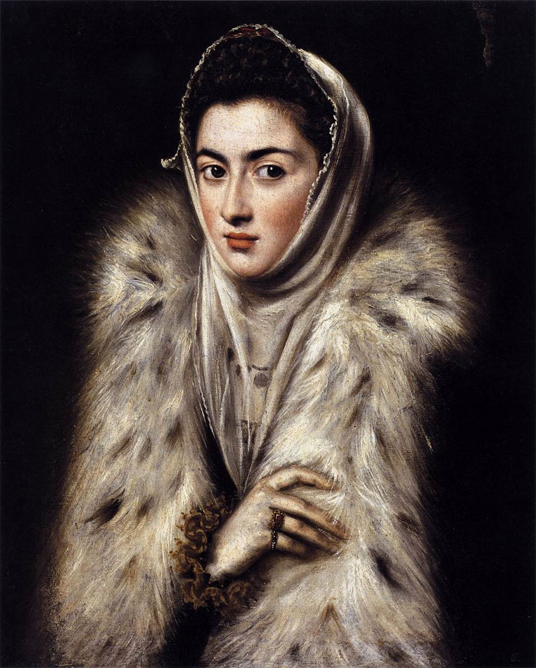 Lady in a Fur Wrap mistakenly attributed to El Greco?