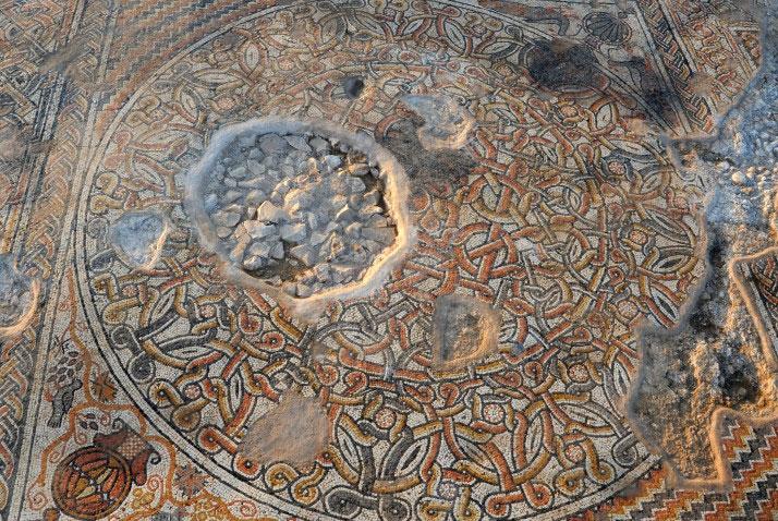 1,500 Year Old Mosaic discovered At Kibbutz Bet Qama.