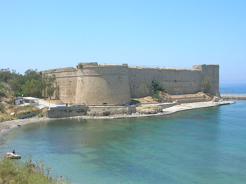 The Kyrenia castle.