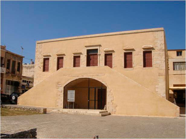 Fig. 2. The Archaeological Museum of Kissamos.