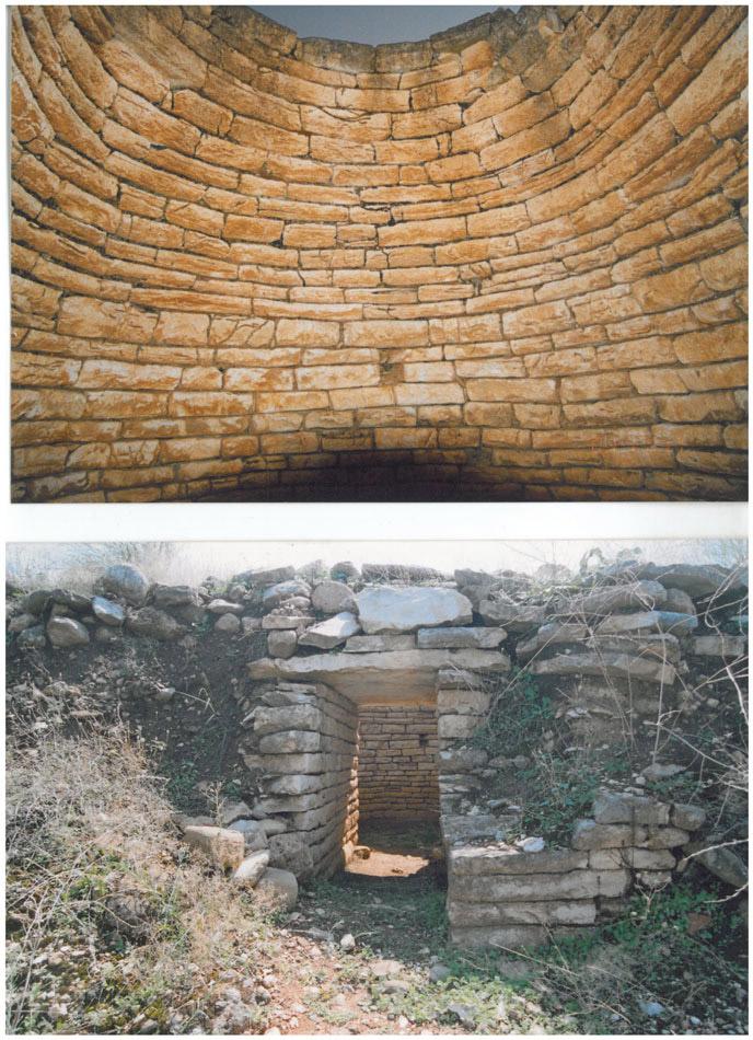 Tholos tomb outside Vonitsa, in Moschovi, Loutraki, Katouna. Photo: ANA-MPA.