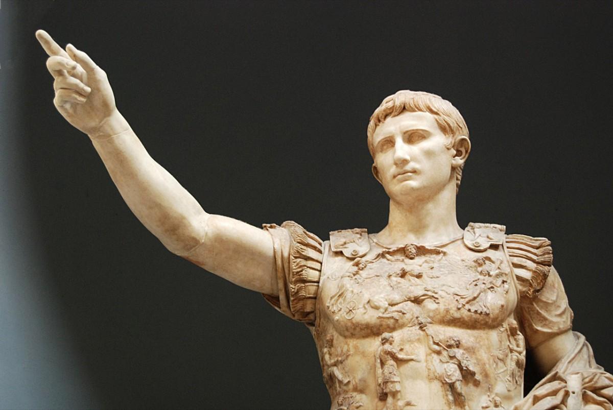 Augustus of Prima Porta, Rome, Vatican Museum.