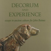 E. Frood, A. McDonald (eds.), Decorum and Experience