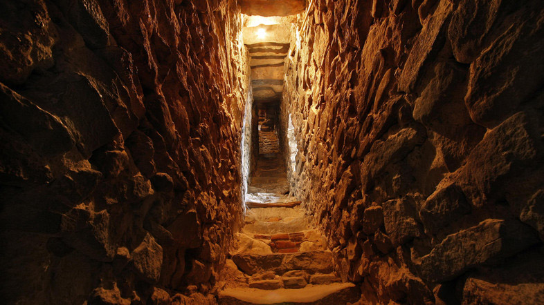 A corridor joining chambers within the Bursa fortifications. Photo: Shutterstock.