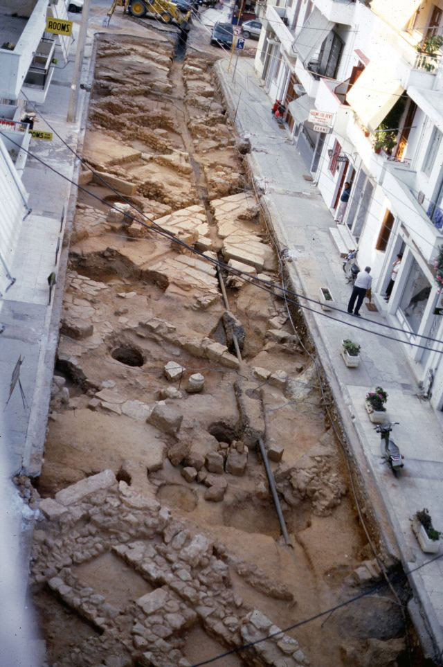 The remains of Kydonia are hidden just underneath the modern city of Chania, Crete. Photo: 25th EPCA archive/ANA-MPA.