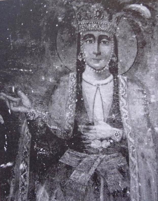 Icon depicting Queen Ketevan of Georgia. Source: LiveScience.