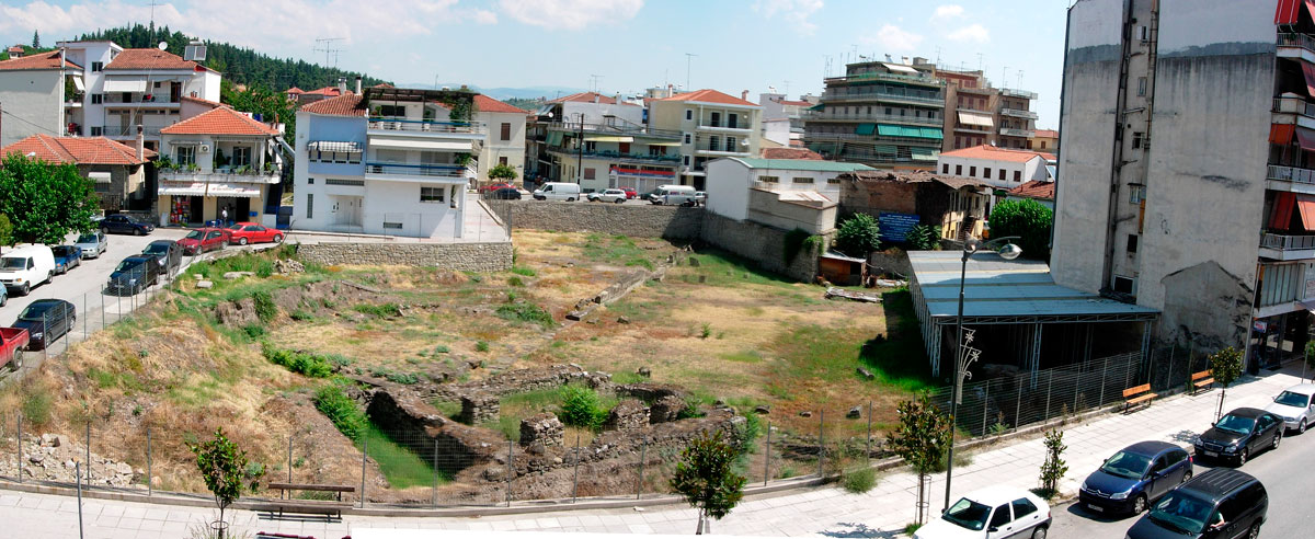 Fig. 2. Overall view of archaeological site of ancient Trikke. Source: 34th EPCA archives.